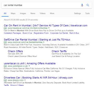 4 ad blocks in Google Ads, 4 top slots in Google Ads, Top 4 ad blocks in Google Ads