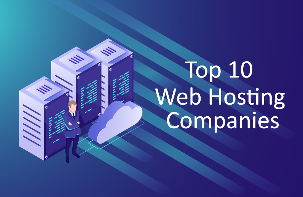 Top 10 web hosting companies, web hosting companies, best web hosting companies in India, web hosting services