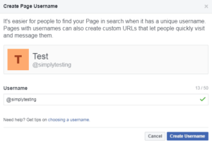 How to create username on Facebook, create username on FB, create username on Facebook