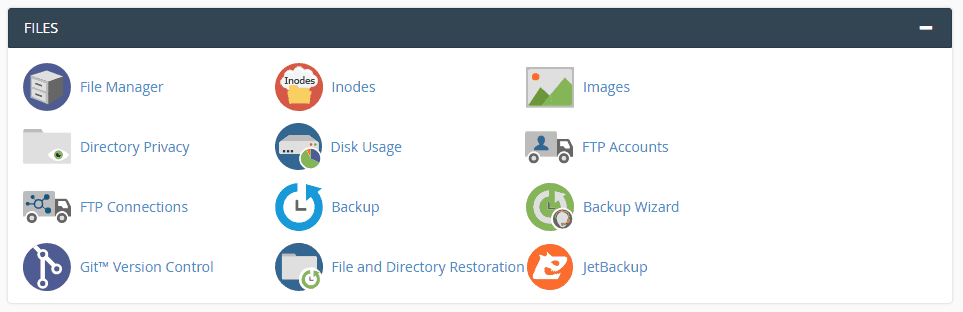 Files Section