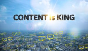 Content is king, great content for website, website content
