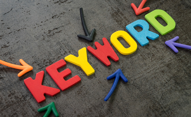 Wise use of keywords is crucial for ranking