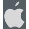 Apple logo outline